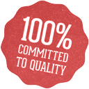 100% committed to quality