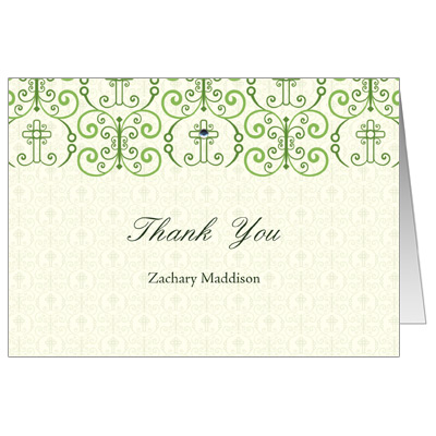 Adorned Cross Jeweled Note Card