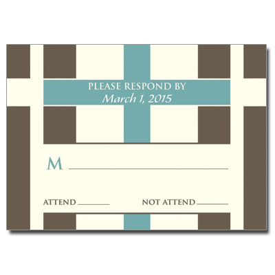 Contempo Crosses First Communion Response Card