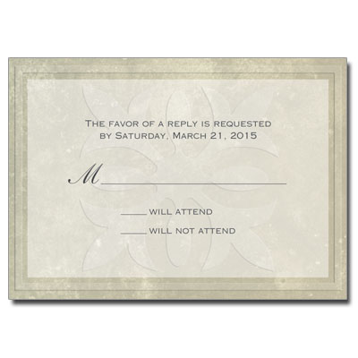 First Communion Host Response Card
