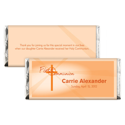 Lightbeams Orange Candy Wrapper