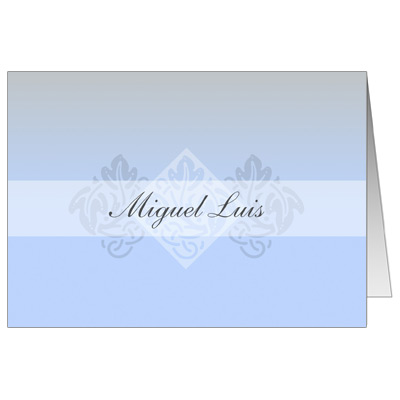 Pastel Boy Cross Note Card
