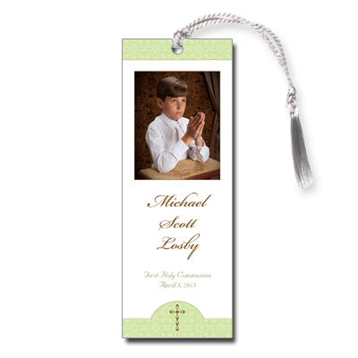 Wintergreen First Communion Bookmark